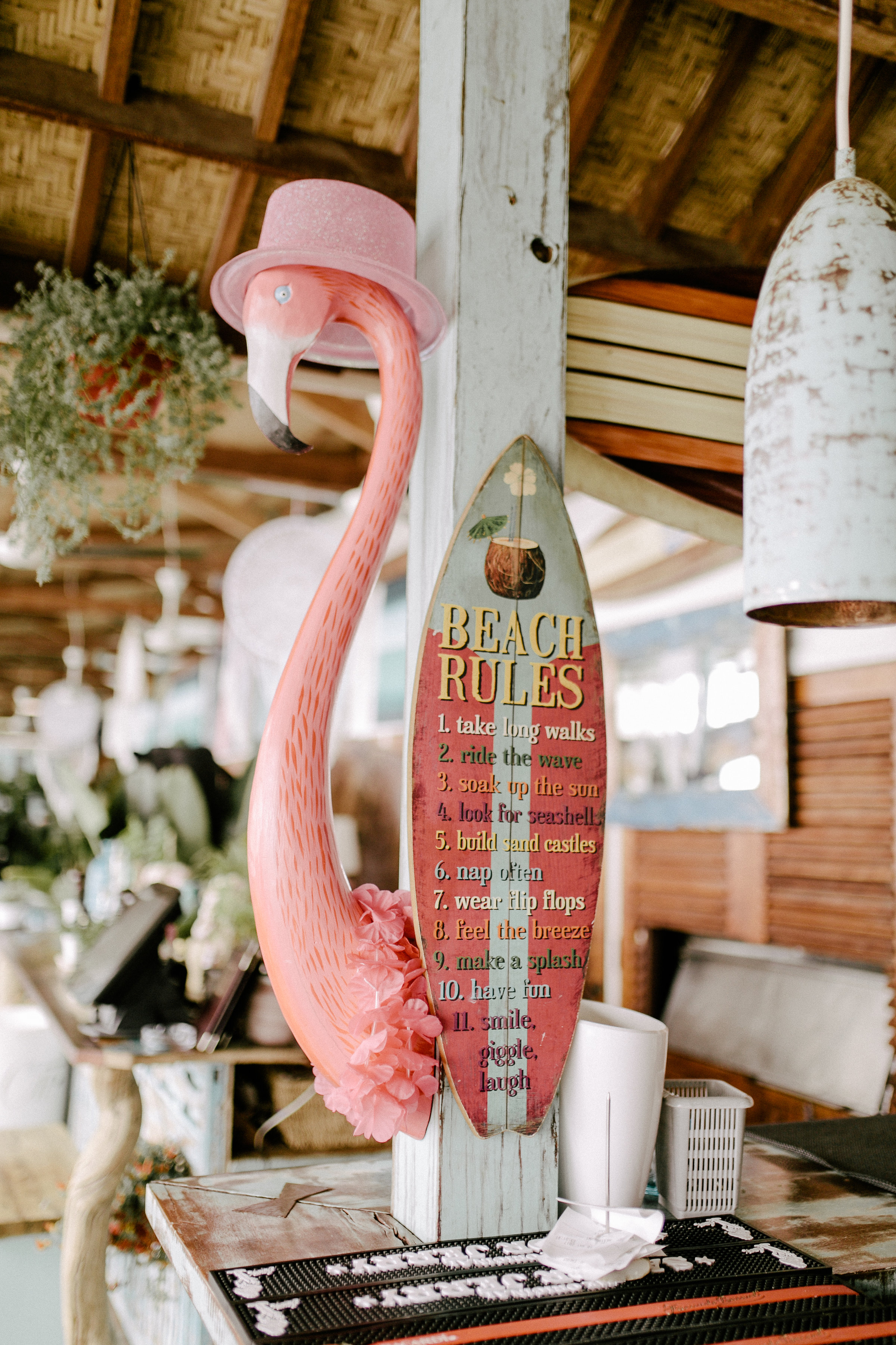 Anjuna, a beach restaurant by the Mediterranean Sea.